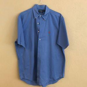 Men's Ralph Lauren short sleeve button down